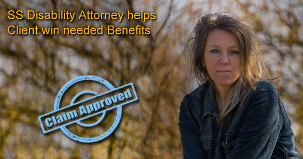 Social Security Disability Attorney and Client Happy with Appeal Ruling
