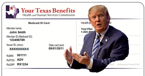 Donald Trump and his plan for Medicaid