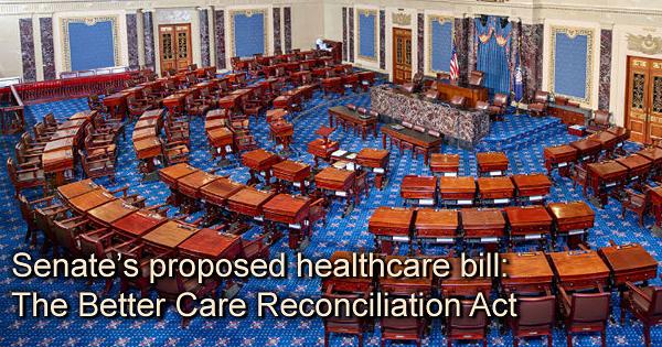 Senate's healthcare bill: The Better Care Reconciliation Act