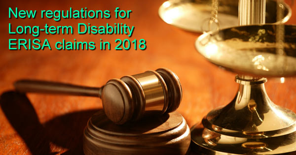 New ERISA LTD Claims Disability Regulations
