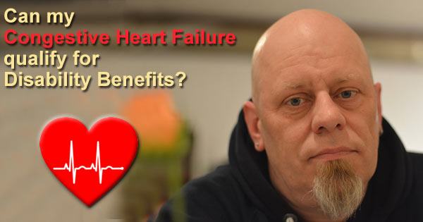 Congestive heart failure lawyer disability