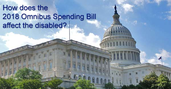 Omnibus spending bill and the disabled