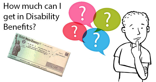 How Much In Disability Benefits Can I Receive
