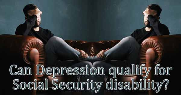 Depression SSDI lawyer
