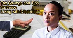 Tax Savings for People with Disabilities