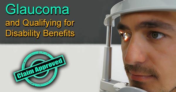 glaucoma disability