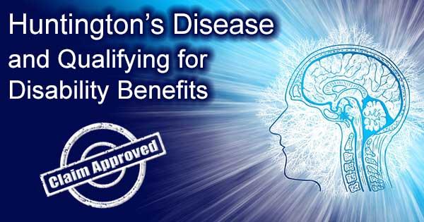 huntingtons disability